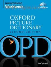 Рабочая тетрадь Oxford Picture Dictionary Second Edition Low Beginning Workbook