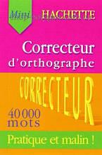Книга Hachette Correcteur d'orthographe