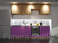 Готовий комплект кухні, висота 2.4 м, низ 2.4 м з фасадами ЛДСП/МДФ, фото 2