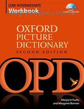 Рабочая тетрадь Oxford Picture Dictionary Second Edition Low Intermediate Workbook with Listening Exercices Audio CD