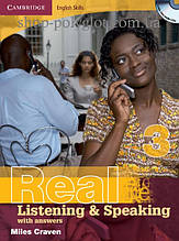 Книга Cambridge English Skills: Real Listening and Speaking 3 with Audio CDs and answers