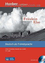 Книга с диском Fräulein Else mit Audio-CD