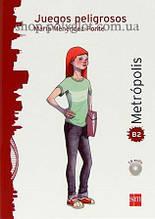 Книга с диском Juegos peligrosos con CD audio