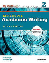 Книга Effective Academic Writing Second Edition 2 — The Short Essay with Student Online Access Code