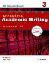 Книга Effective Academic Writing Second Edition 3 — The Researched Essay with Student Online Access Code