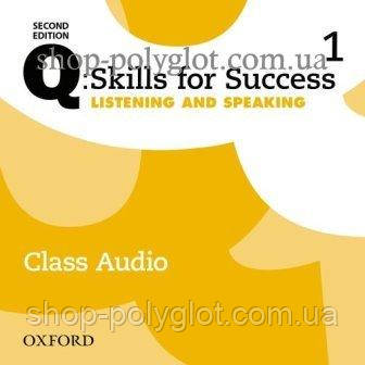 Аудио диск Q: Skills for Success Second Edition. Listening and Speaking 1 Class Audio