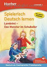 Книга Spielerisch Deutsch lernen Lernstufe 1 Lernkrimi – Das Monster im Schulkeller