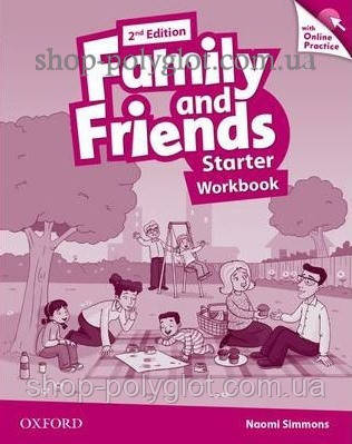Рабочая тетрадь Family and Friends 2nd Edition Starter Workbook with Online Practice