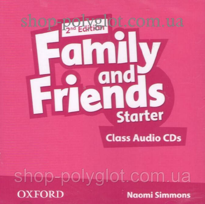 Аудио диск Family and Friends 2nd Edition Starter Class Audio CDs