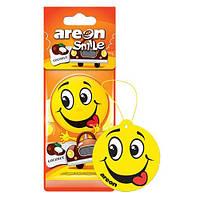Освежитель воздуха AREON сухой листик Smile Dry Coconut (ASD20)
