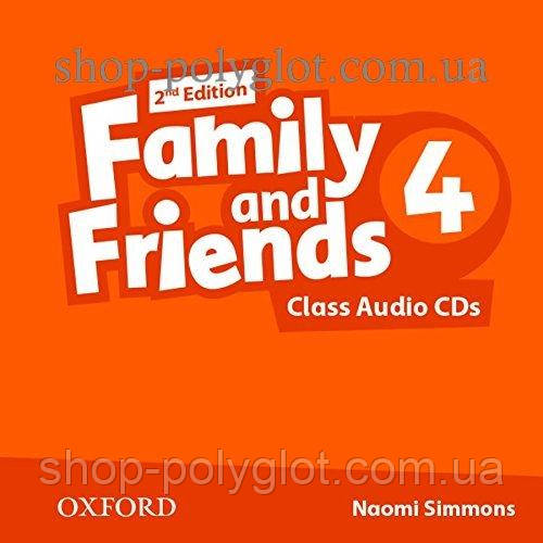 Аудио диск Family and Friends 2nd Edition 4 Class Audio CDs
