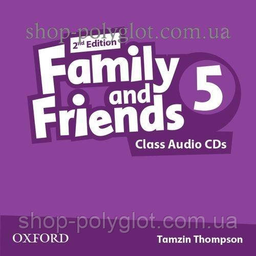 Аудио диск Family and Friends 2nd Edition 5 Class Audio CDs