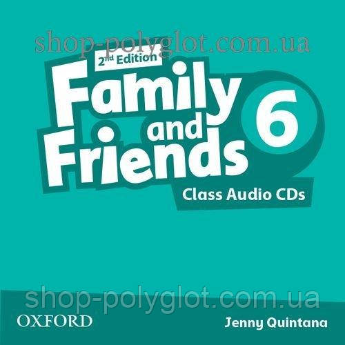 Аудио диск Family and Friends 2nd Edition 6 Class Audio CDs
