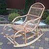 Большое кресло-качалка букова