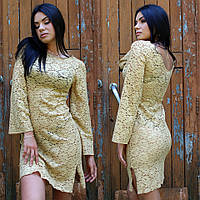 Жіноча мереживна сукня пляжне