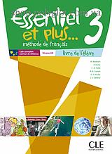 Учебник Essentiel et plus... 3 Livre de l'élève avec CD audio