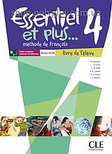 Учебник Essentiel et plus... 4 Livre de l'élève avec CD audio