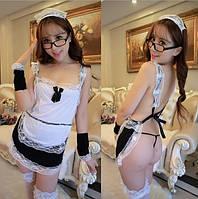 Еротичний костюм ПОКОЇВКИ для рольових ігор