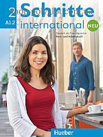 Учебник и рабочая тетрадь Schritte international Neu 2 Kurs- und Arbeitsbuch mit Audio-CD zum Arbeitsbuch