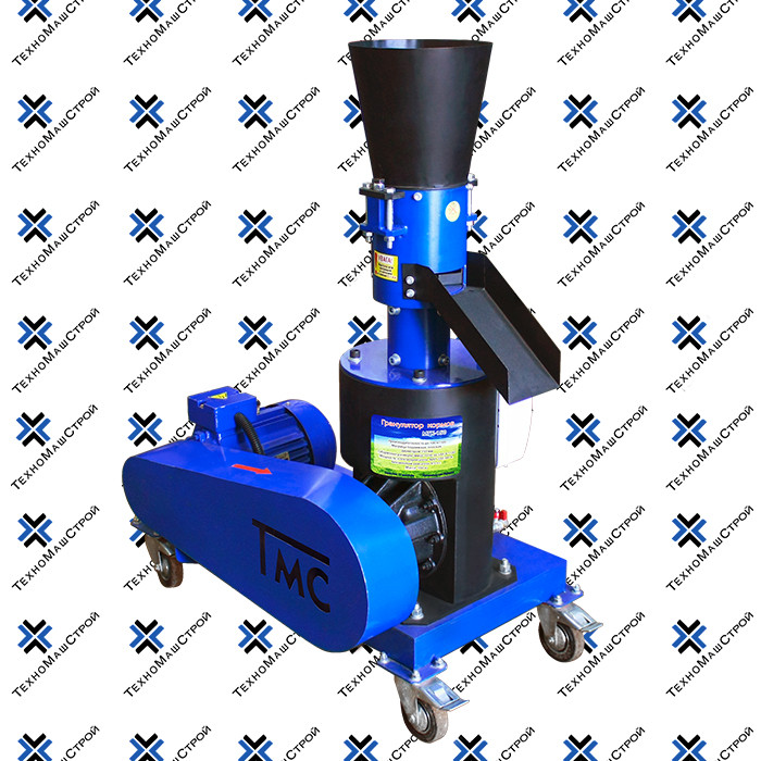Грaнулятор МГК-150 с двигaтелем 4 кВт 380 В (редукторный)