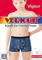 """Трусы боксёры  для мальчиков """"Vericoh"""".  Ростовка от 6 до 16 лет. №V1-552B."""