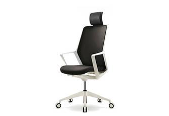 Кресло компьютерное с подголовником Enrandnepr FLO черное