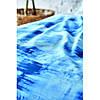 Постельное белье Karaca Home ранфорс - Batis mavi 2020-2 голубой евро, фото 4
