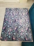 """Бесплатная доставка! Ковер   """"Фламинго в листве""""  (1.9*2.3 м), фото 3"""