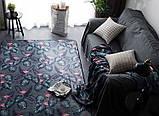 """Бесплатная доставка! Ковер   """"Фламинго в листве""""  (1.9*2.3 м), фото 4"""