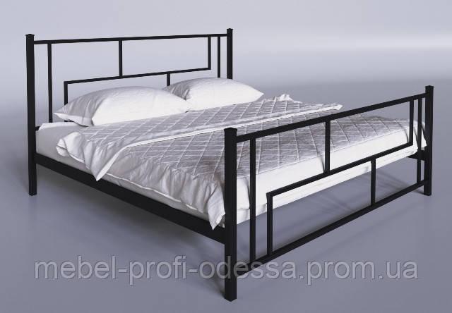 Амис 1600х2000 Металлическая двуспальная Кровать фабрика Тенеро (Tenero) в Одессе