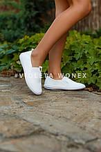 Слипоны детские Violeta 203-16K white