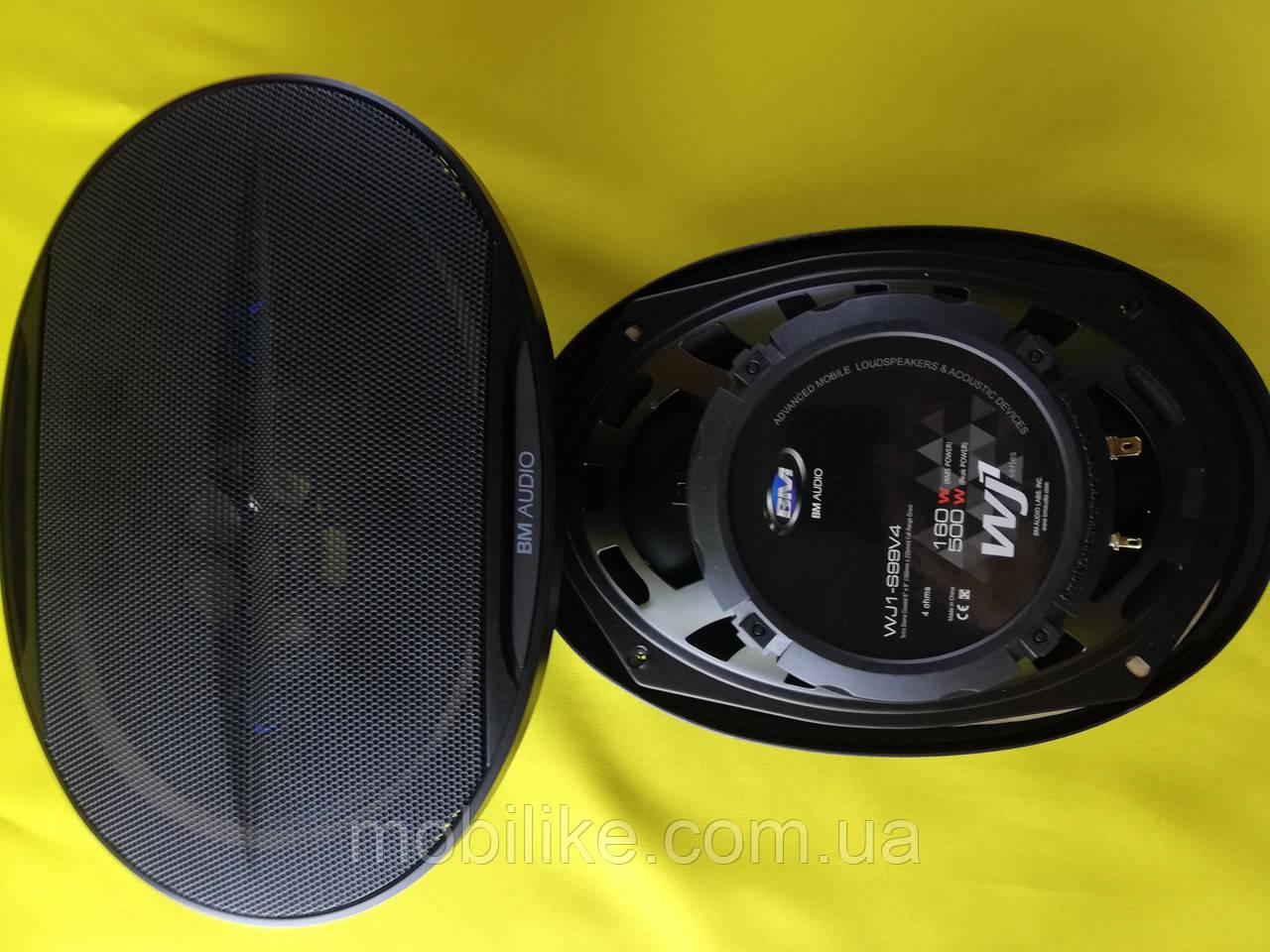 Автомобильные колонки BOSCHMANN BM AUDIO WJ1-S99V4 6x9 500W 4х полосная