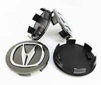 Колпачки для оригинальных дисков Акура (серый)