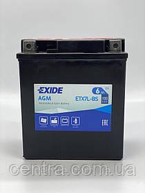 Мото аккумулятор EXIDE ETX7L-BS 6Ah