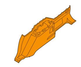 Карта крыла заднего правая, серая NISSAN 849527S000 NISSAN ARMADA