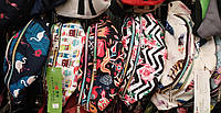 Молодежные сумки-барсетки на пояс текстиль (5 принтов)16*36см