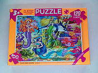 Пазлы 120 элементов PUZZLE / Русалочки