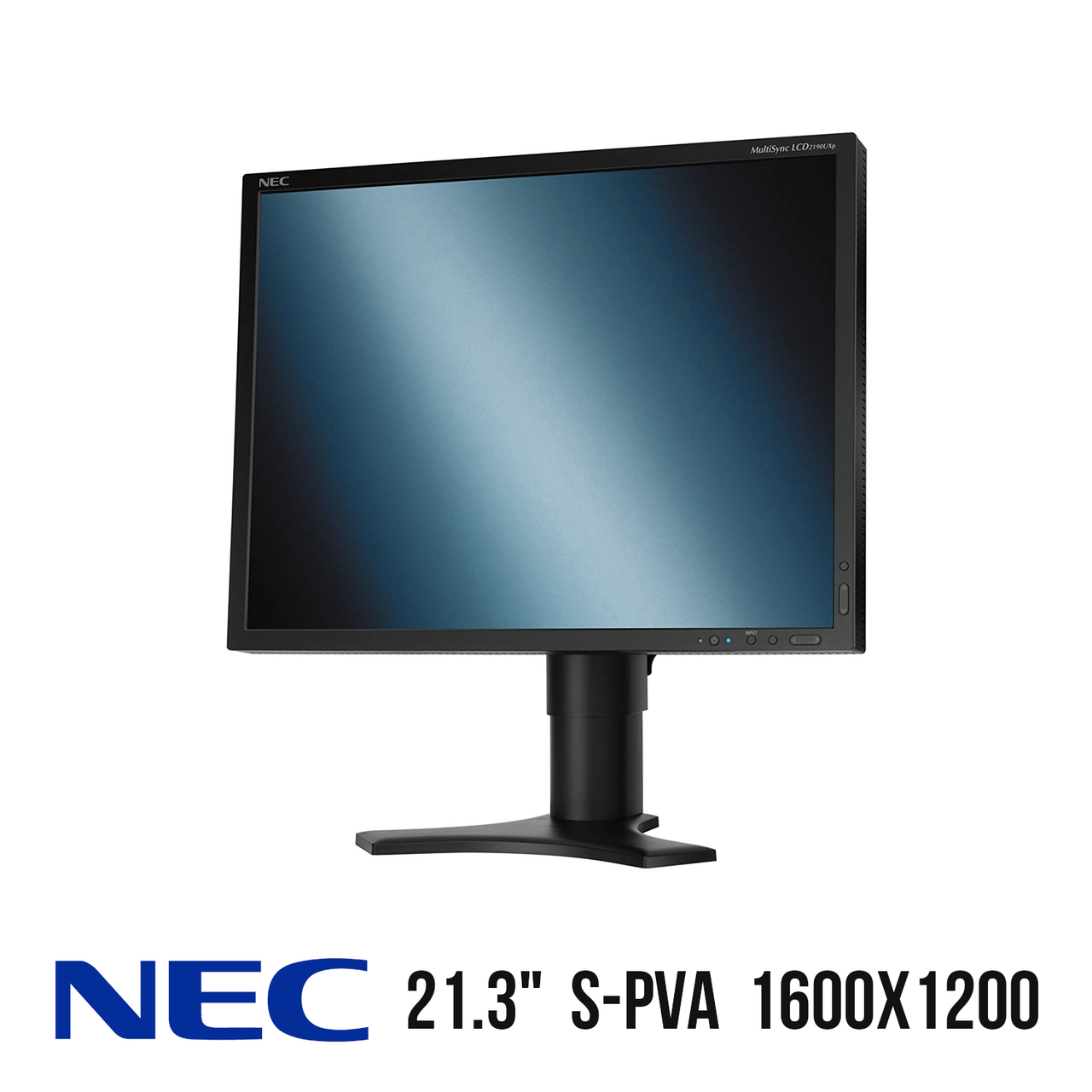 "Монитор NEC MultiSync 2190UXp / 21.3"" / 1600x1200 (4.3) / AC, VGA, DVI-D, DVI-I"
