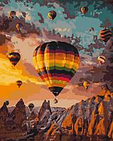 Картина по номерам на холсте Воздушные шары Каппадокии 40x50 см Art Craft (23060031)
