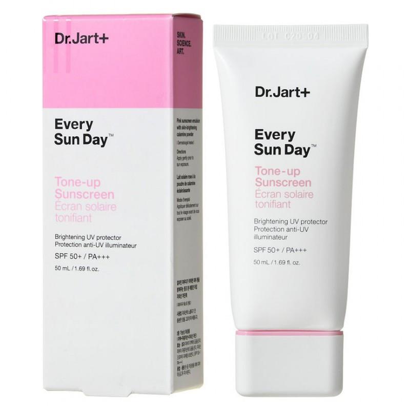 Осветляющий солнцезащитный крем DR.JART+ EVERY SUN DAY TONE-UP SUNSCREEN SPF50+ PA+++, 50 мл