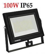 Світлодіодний прожектор c датчиком 100W 8000Lm IP65 6400K PARS Horoz Electric