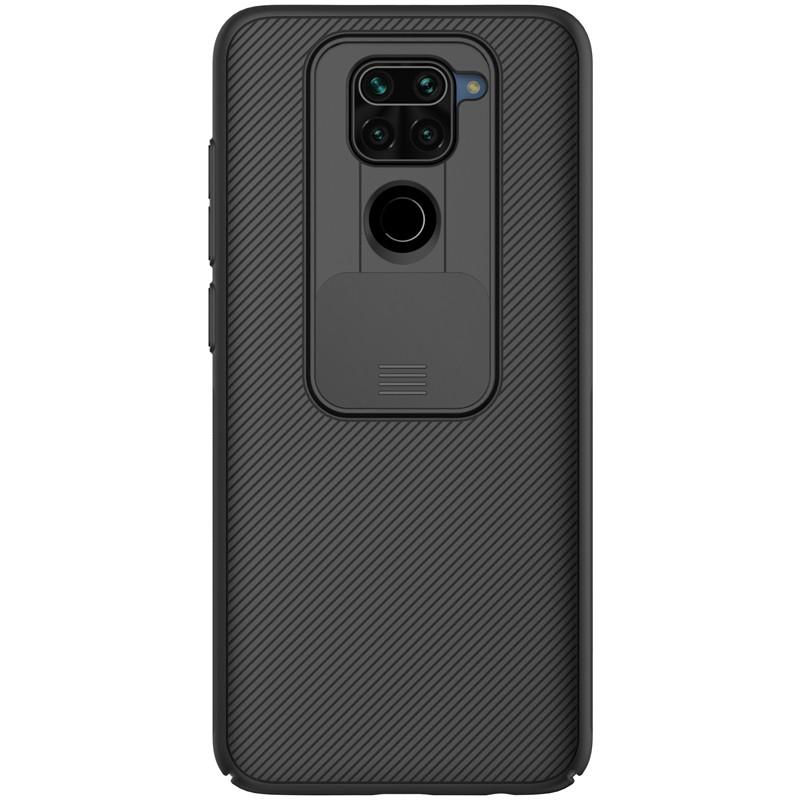 Nillkin Xiaomi Redmi Note 9 / 10X 4G CamShield Case Black Чехол Накладка Бампер