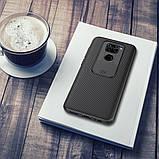 Nillkin Xiaomi Redmi Note 9 / 10X 4G CamShield Case Black Чехол Накладка Бампер, фото 4