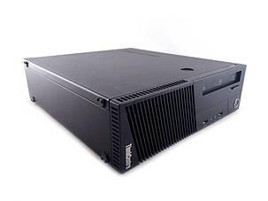 Lenovo ThinkCentre M83 SFF / Intel Core i5-4440 (4 ядра по 3.1 - 3.3 GHz) / 8 GB DDR3 / 120 GB SSD+500 GB HDD / AMD Radeon RX 550, 4 GB GDDR5, 128-bit, фото 2