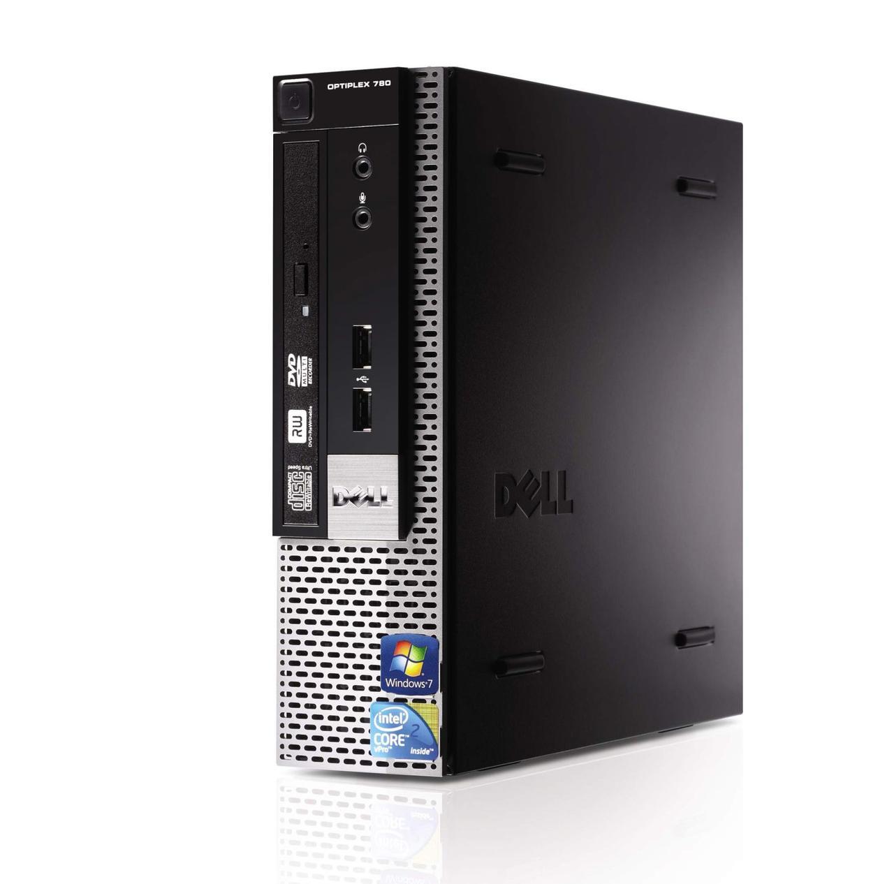 DELL 780 USFF / Intel Core 2 Duo E8500 (2 ядра по 3.16GHz) / 4GB DDR3 / 250GB HDD