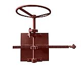 Механизм подйома шибера (Шиберная заслонка) .., фото 2