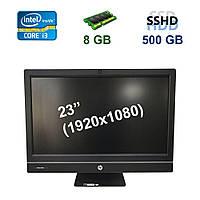 """HP Pro One 800 G1 / 23"""" (1920х1080) IPS LED / Intel Core i3-4130 (2 (4) ядра по 3.4 GHz) / 8 GB DDR3 / 500 GB"""