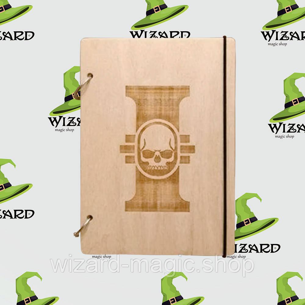 Деревянный блокнот А6 Warhammer (светлое дерево)