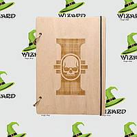 Деревянный блокнот А6 Warhammer (светлое дерево), фото 1