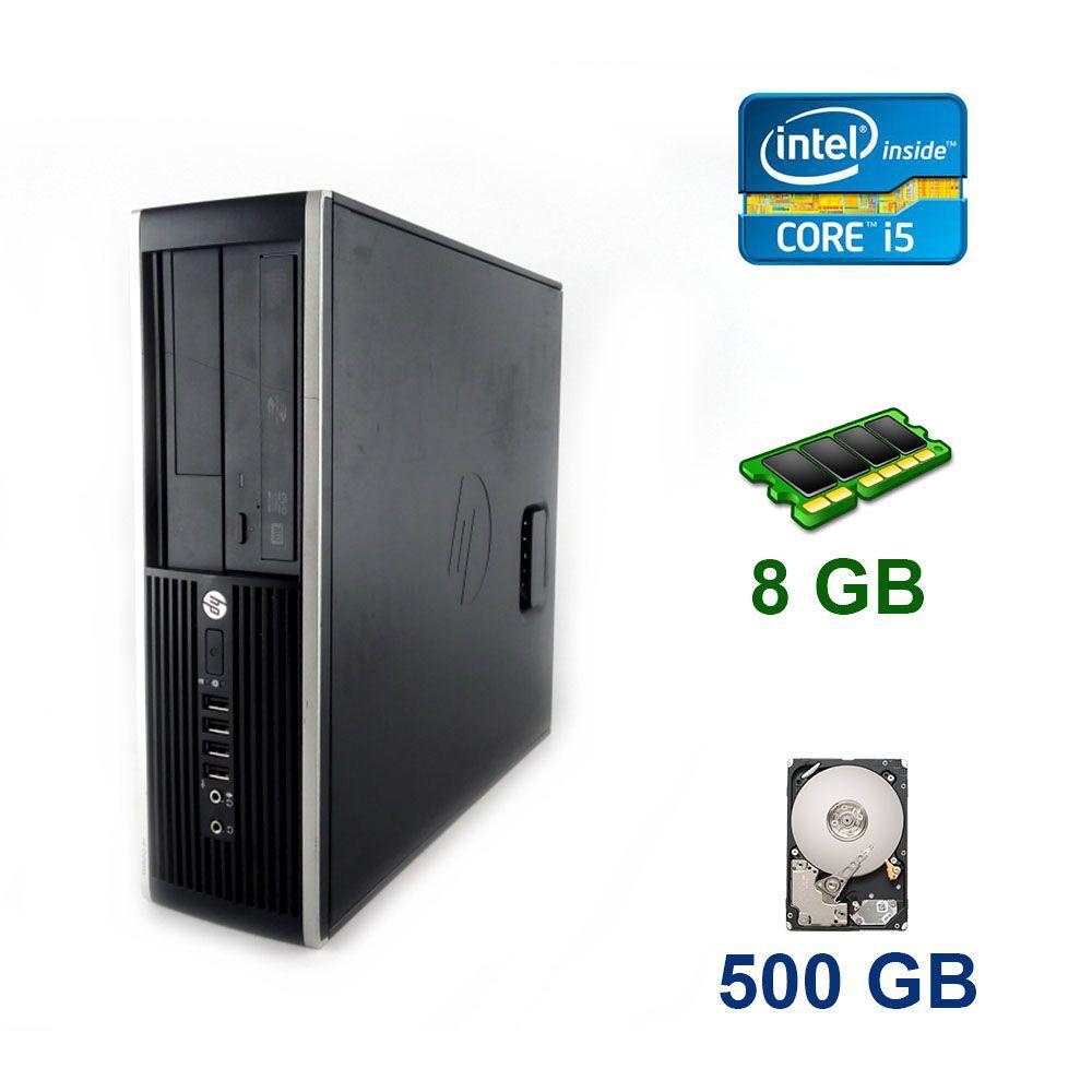 HP Compaq Elite 8200 SFF / Intel Core i5-2400 (4 ядра по 3.1 - 3.4 GHz) / 8 GB DDR3 / 500 GB HDD / AMD Radeon HD 8490, 1 GB DDR3, 64-bit